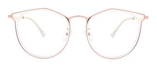 M2156 Cassandra Geometric clear glasses
