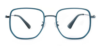 M2888 Althea Geometric purple glasses