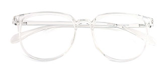M3011 Ursula Round,Oval clear glasses