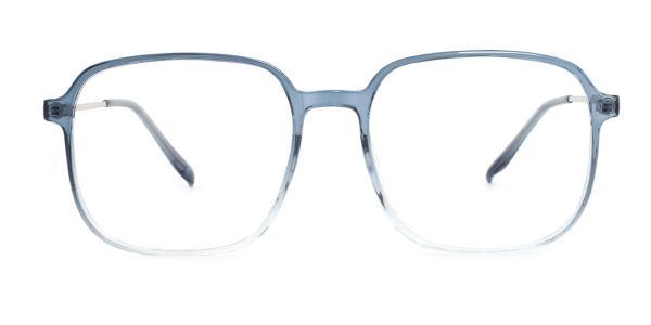 M6001 Nan Geometric blue glasses