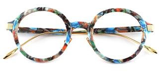 M60020 Claudia Round multicolor glasses