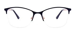 M8214 Cloris Rectangle blue glasses