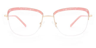 M8608 Riley Cateye pink glasses