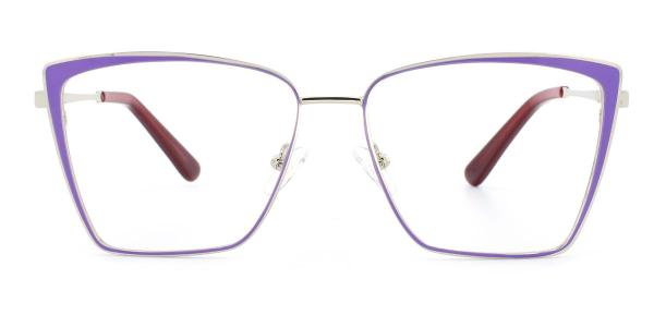 M8610-1 Pansey Cateye purple glasses