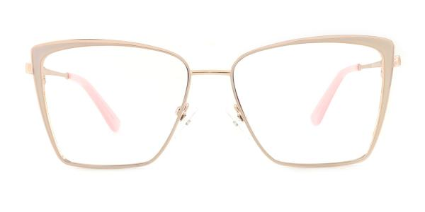 M8610 Theresia Rectangle gold glasses