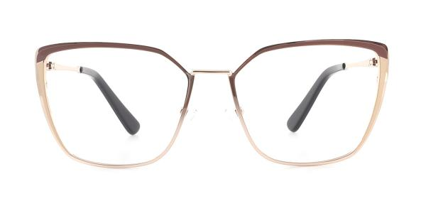 M8613 Thelma Cateye brown glasses