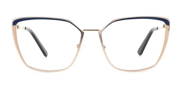 M8613 Thelma Cateye blue glasses