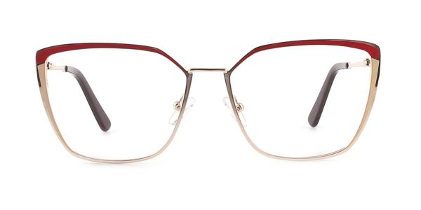 M8613 Thelma Cateye red glasses