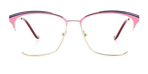 MY5800 Pammeli Cateye pink glasses