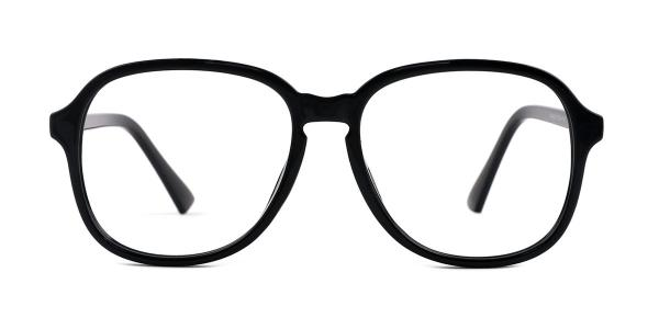 OF8852 Alfreda Oval yellow glasses