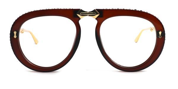OF8870 Judith Aviator red glasses