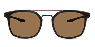 P18 Gordon Aviator brown glasses