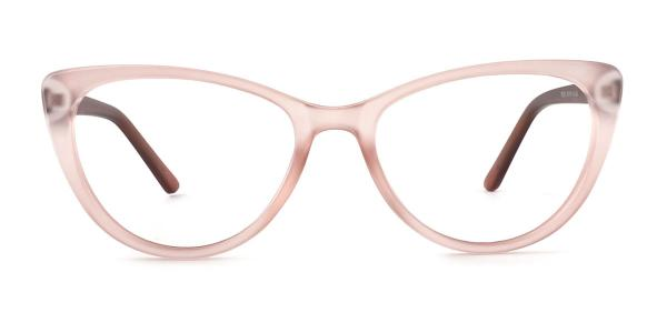 P8013 May Cateye pink glasses