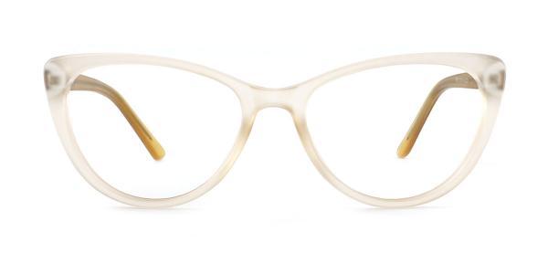 P8013 May Cateye yellow glasses