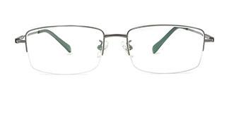 P8021 Mac Rectangle black glasses