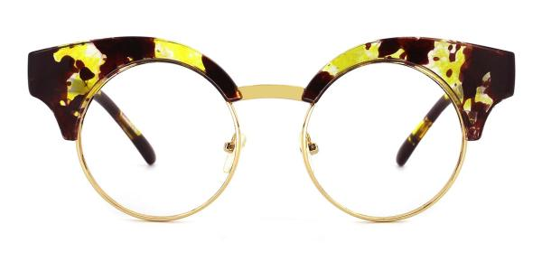 PQ1564 Bblythe Cateye yellow glasses