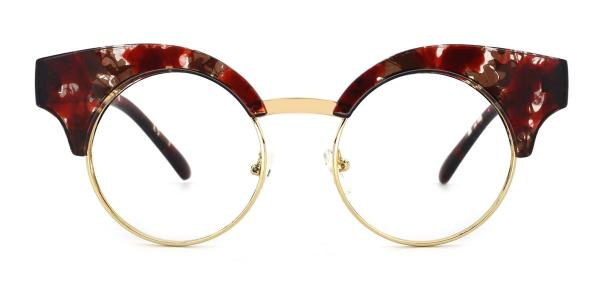 PQ1564 Bblythe Cateye red glasses