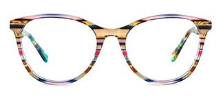PY3019 Alvina Oval multicolor glasses