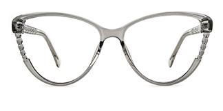 R7569 Davin Cateye grey glasses