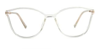 R87041 Davina Cateye clear glasses