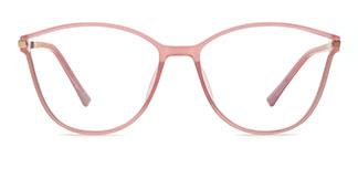 R87041 Davina Cateye pink glasses