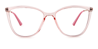 R87073 Ardith Cateye pink glasses