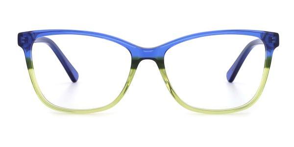 RD155 Katlyn Cateye blue glasses