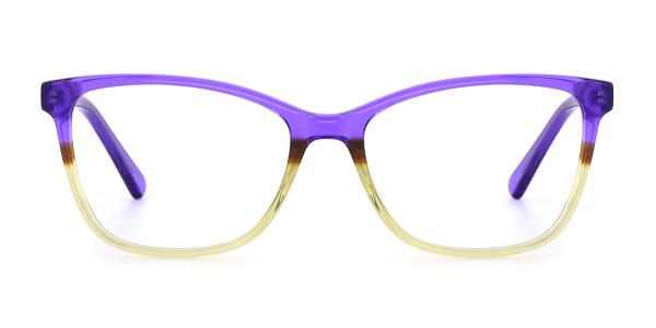 RD155 Katlyn Cateye purple glasses