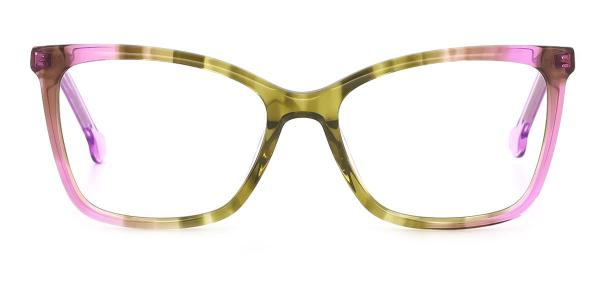 RD162 Maureen Cateye green glasses