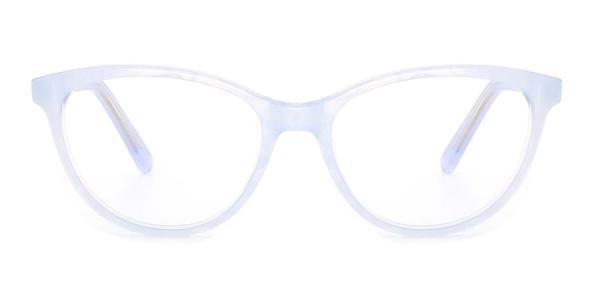 RD306 Olene Cateye blue glasses