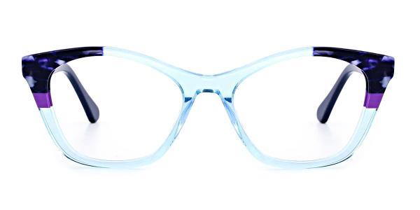 RD359 Onya Cateye blue glasses