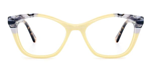 RD359 Onya Cateye yellow glasses