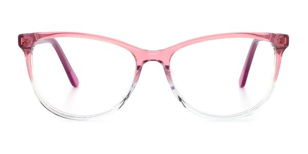 RD658 Mel Rectangle pink glasses