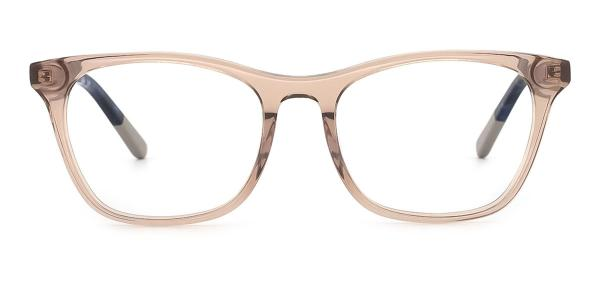 RD686 Nerissa Rectangle brown glasses