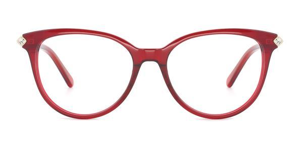 RT-3001 Pandora Cateye red glasses