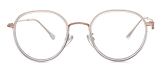S11366 Antonia Round clear glasses