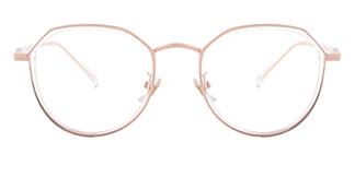 S11689 Clement Geometric clear glasses