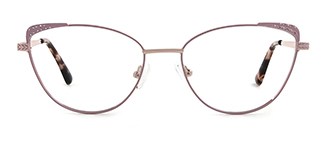 S19064 Haggith Cateye pink glasses