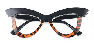 S8053 Kerrin Cateye tortoiseshell glasses