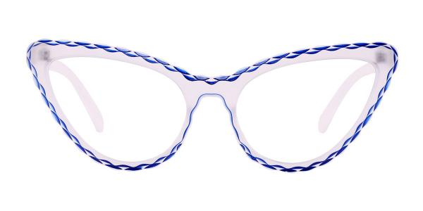 S8073 Betty Cateye yellow glasses