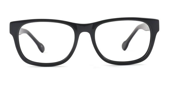 SD2115 Orr Rectangle black glasses