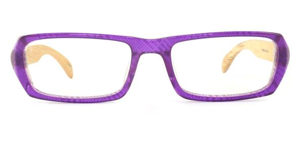 SD3126 Effie Rectangle purple glasses