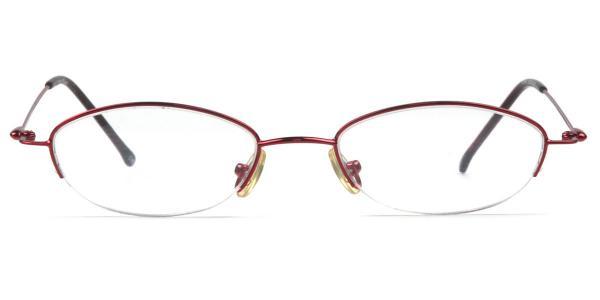 SE546 Mabel Oval red glasses