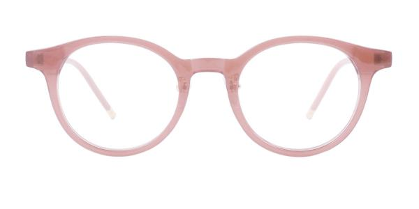 TR2802 Inigo Round brown glasses