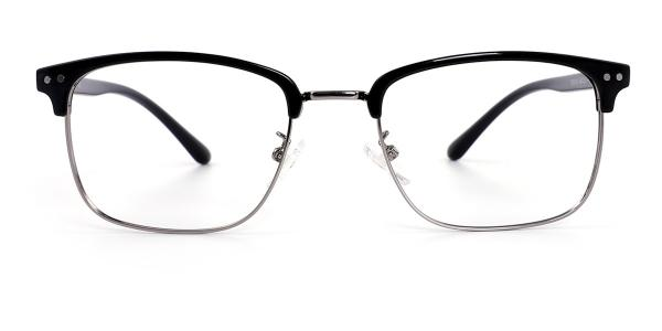 TR9126 Katz Rectangle silver glasses