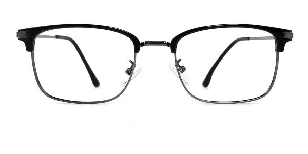 TR9134 Manuel Rectangle silver glasses