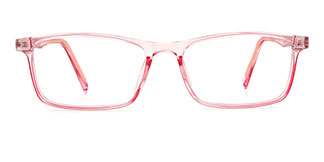 TR9144 Kenneth Rectangle pink glasses