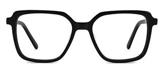 WD57 Annett Rectangle black glasses