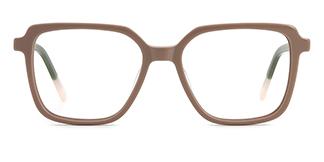 WD57 Annett Rectangle brown glasses