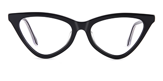 X52056 zoey Cateye black glasses